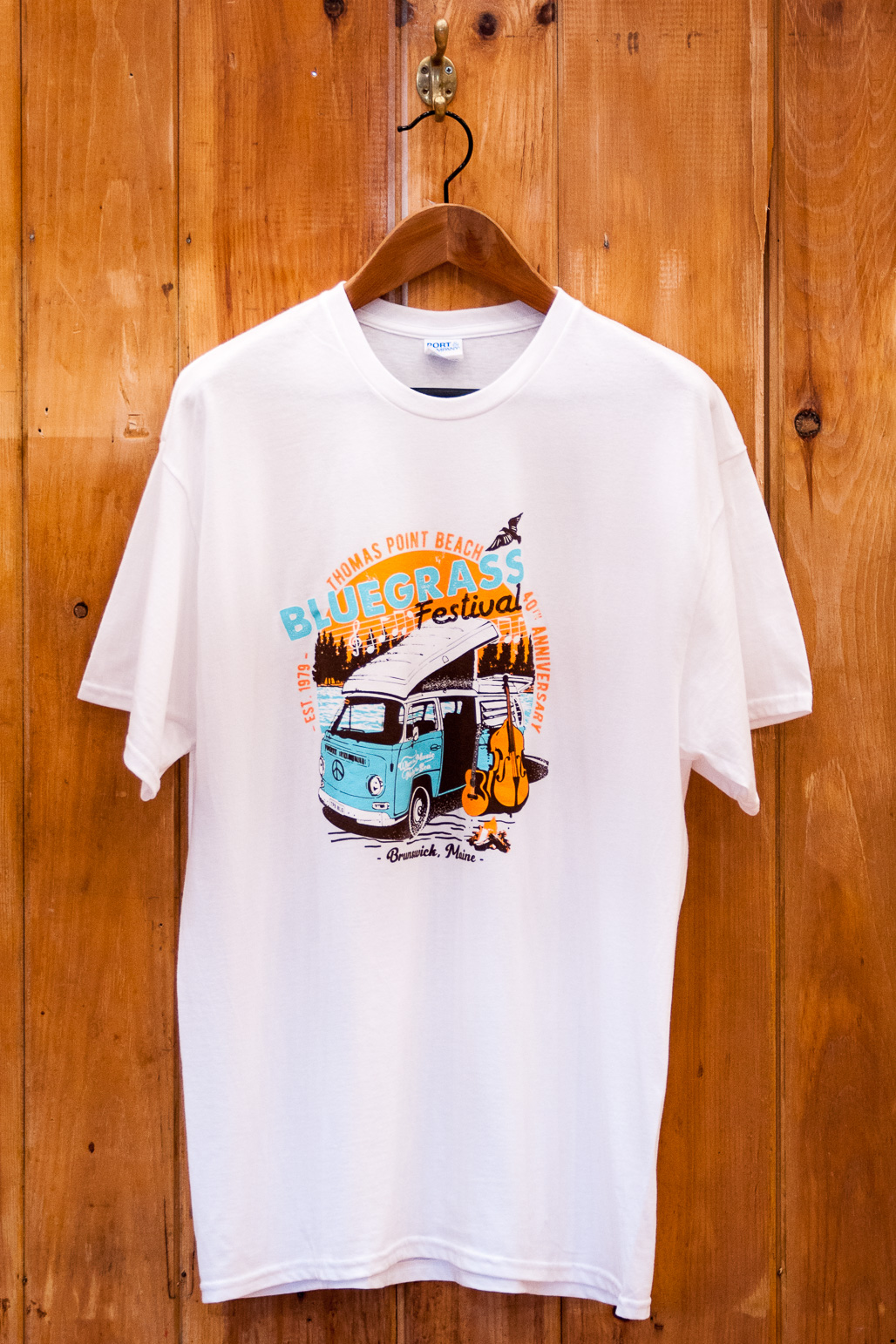 2019 Bluegrass Tee (White)