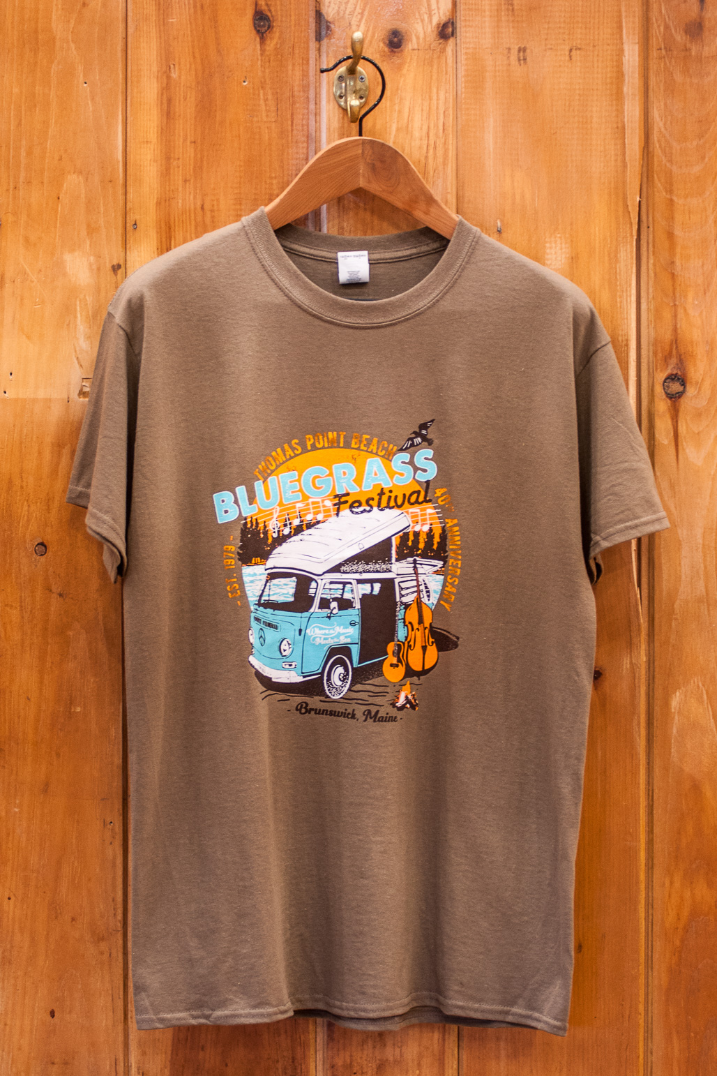 2019 Bluegrass Tee (Brown)